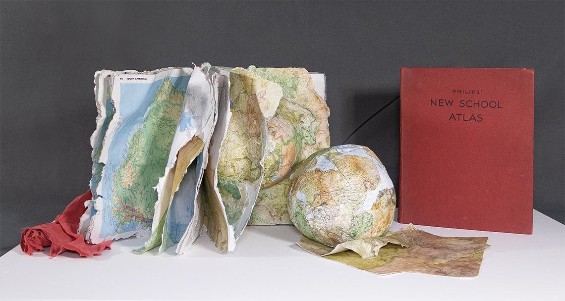 New School Atlas Sculpture